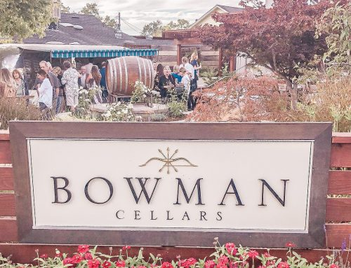 Behind The Scenes Dinner At Bowman Cellars
